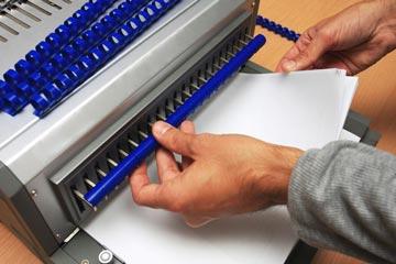 Plastic Comb Binding Punch Book Binding